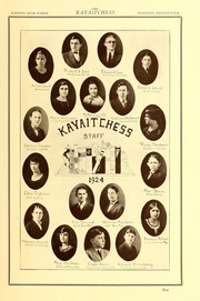 Kinston High School - Kay Aitch Ess Yearbook (Kinston, NC) online yearbook collection, 1924 Edition, Page 7