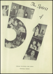 Kirkman Vocational School - Spirit Yearbook (Chattanooga, TN) online yearbook collection, 1951 Edition, Page 7 of 104