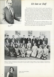 Kittanning High School - Kit Han Ne Yearbook (Kittanning, PA) online yearbook collection, 1968 Edition, Page 10