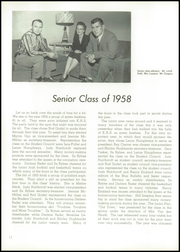 Knoxville High School - Jester Yearbook (Knoxville, IL) online yearbook collection, 1958 Edition, Page 16