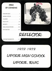 La Porte High School - Reflector Yearbook (La Porte, TX) online yearbook collection, 1973 Edition, Page 7