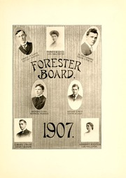 Lake Forest College - Forester Yearbook (Lake Forest, IL) online yearbook collection, 1907 Edition, Page 11 of 286