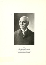 Lake Forest College - Forester Yearbook (Lake Forest, IL) online yearbook collection, 1908 Edition, Page 10