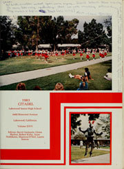 Lakewood High School - Citadel Yearbook (Lakewood, CA) online yearbook collection, 1983 Edition, Page 5
