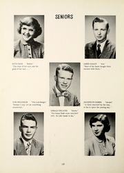 Lancaster Central High School - Reflector Yearbook (Bluffton, IN) online yearbook collection, 1952 Edition, Page 14