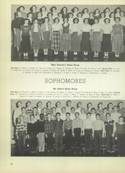 Lanphier High School - Lan Hi Yearbook (Springfield, IL) online yearbook collection, 1950 Edition, Page 54