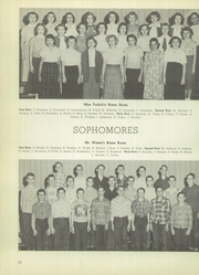 Lanphier High School - Lan Hi Yearbook (Springfield, IL) online yearbook collection, 1950 Edition, Page 56