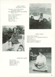 Lausanne Collegiate School - Lausanne Locket Yearbook (Memphis, TN) online yearbook collection, 1963 Edition, Page 49
