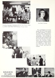 Lawrence University - Ariel Yearbook (Appleton, WI) online yearbook collection, 1956 Edition, Page 90