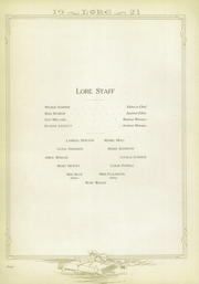 Lawton High School - Wolverine Lore Yearbook (Lawton, OK) online yearbook collection, 1921 Edition, Page 10