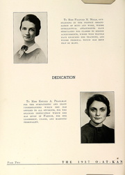 Le Roy Central School - O At Kan Yearbook (Le Roy, NY) online yearbook collection, 1937 Edition, Page 10
