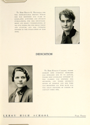 Le Roy Central School - O At Kan Yearbook (Le Roy, NY) online yearbook collection, 1937 Edition, Page 11 of 124