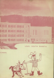 Lead High School - Goldenlode Yearbook (Lead, SD) online yearbook collection, 1950 Edition, Page 3