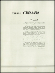 Lebanon High School - Cedars Yearbook (Lebanon, IN) online yearbook collection, 1941 Edition, Page 4 of 56
