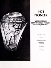 Lebanon High School - Pioneer Yearbook (Lebanon, VA) online yearbook collection, 1971 Edition, Page 5