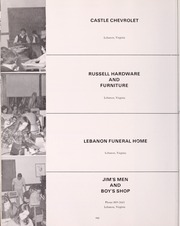 Lebanon High School - Pioneer Yearbook (Lebanon, VA) online yearbook collection, 1973 Edition, Page 154
