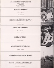Lebanon High School - Pioneer Yearbook (Lebanon, VA) online yearbook collection, 1973 Edition, Page 156