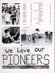Lebanon High School - Pioneer Yearbook (Lebanon, VA) online yearbook collection, 1976 Edition, Page 31