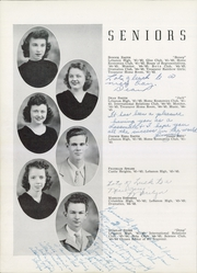 Lebanon High School - Souvenir Yearbook (Lebanon, TN) online yearbook collection, 1945 Edition, Page 24