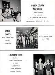 Lebanon High School - Souvenir Yearbook (Lebanon, TN) online yearbook collection, 1959 Edition, Page 163