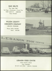Lebanon High School - Souvenir Yearbook (Lebanon, TN) online yearbook collection, 1960 Edition, Page 163