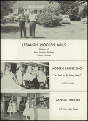 Lebanon High School - Souvenir Yearbook (Lebanon, TN) online yearbook collection, 1960 Edition, Page 176