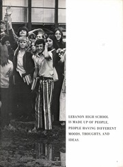 Lebanon High School - Souvenir Yearbook (Lebanon, TN) online yearbook collection, 1973 Edition, Page 7