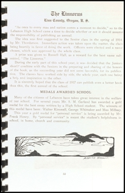 Lebanon Union High School - Warrior Yearbook (Lebanon, OR) online yearbook collection, 1915 Edition, Page 99