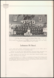 Lebanon Union High School - Warrior Yearbook (Lebanon, OR) online yearbook collection, 1942 Edition, Page 44