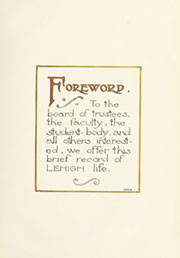 Lehigh University - Epitome Yearbook (Bethlehem, PA) online yearbook collection, 1919 Edition, Page 11