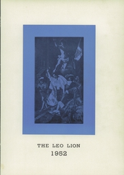 Leo High School - Leo Lion Yearbook (Chicago, IL) online yearbook collection, 1952 Edition, Page 5 of 144