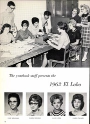 Levelland High School - El Lobo Yearbook (Levelland, TX) online yearbook collection, 1962 Edition, Page 8
