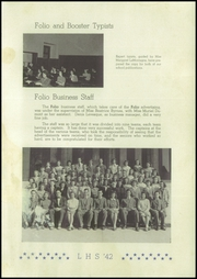 Lewiston High School - Folio Yearbook (Lewiston, ME) online yearbook collection, 1942 Edition, Page 11