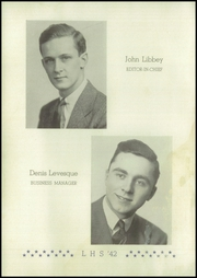 Lewiston High School - Folio Yearbook (Lewiston, ME) online yearbook collection, 1942 Edition, Page 8