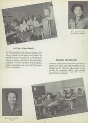 Liberty High School - Harvester Yearbook (Liberty, TX) online yearbook collection, 1953 Edition, Page 14 of 168