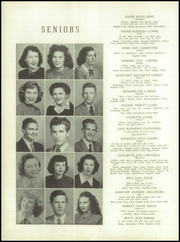 Lincolnton High School - Pine Burr Yearbook (Lincolnton, NC) online yearbook collection, 1949 Edition, Page 14