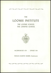 Loomis Chaffee High School - Confluence Yearbook (Windsor, CT) online yearbook collection, 1955 Edition, Page 126 of 136