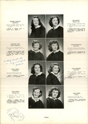 Lower Camden County High School - L Agenda Yearbook (Lindenwold, NJ) online yearbook collection, 1949 Edition, Page 20