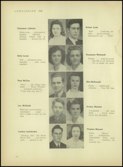 Lowville Academy and Central School - Lowacadian Yearbook (Lowville, NY) online yearbook collection, 1945 Edition, Page 16