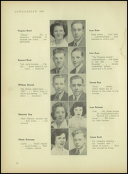 Lowville Academy and Central School - Lowacadian Yearbook (Lowville, NY) online yearbook collection, 1945 Edition, Page 18