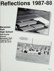 Manassas Park High School - Reflections Yearbook (Manassas Park, VA) online yearbook collection, 1988 Edition, Page 5 of 152