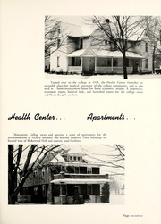 Manchester College - Aurora Yearbook (North Manchester, IN) online yearbook collection, 1955 Edition, Page 21