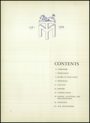 Manheim Township High School - Neff Vue Yearbook (Lancaster, PA) online yearbook collection, 1955 Edition, Page 8