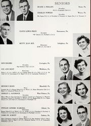 Mansfield University - Carontawan Yearbook (Mansfield, PA) online yearbook collection, 1957 Edition, Page 69