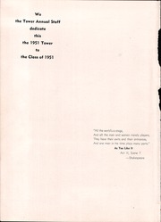 Manteca Union High School - Tower Yearbook (Manteca, CA) online yearbook collection, 1951 Edition, Page 6