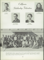 Mar Vista High School - Mariner Log Yearbook (Imperial Beach, CA) online yearbook collection, 1954 Edition, Page 58