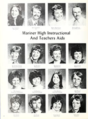 Mariner High School - Voyager Yearbook (Everett, WA) online yearbook collection, 1973 Edition, Page 16