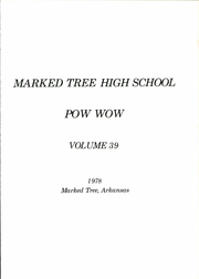 Marked Tree High School - Pow Wow Yearbook (Marked Tree, AR) online yearbook collection, 1978 Edition, Page 5