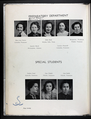 Martin Methodist College - Spinster Yearbook (Pulaski, TN) online yearbook collection, 1937 Edition, Page 24 of 80
