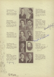 Martinsville High School - Artesian Yearbook (Martinsville, IN) online yearbook collection, 1935 Edition, Page 14